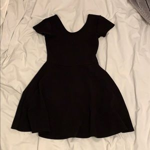 Planet gold dress with low back